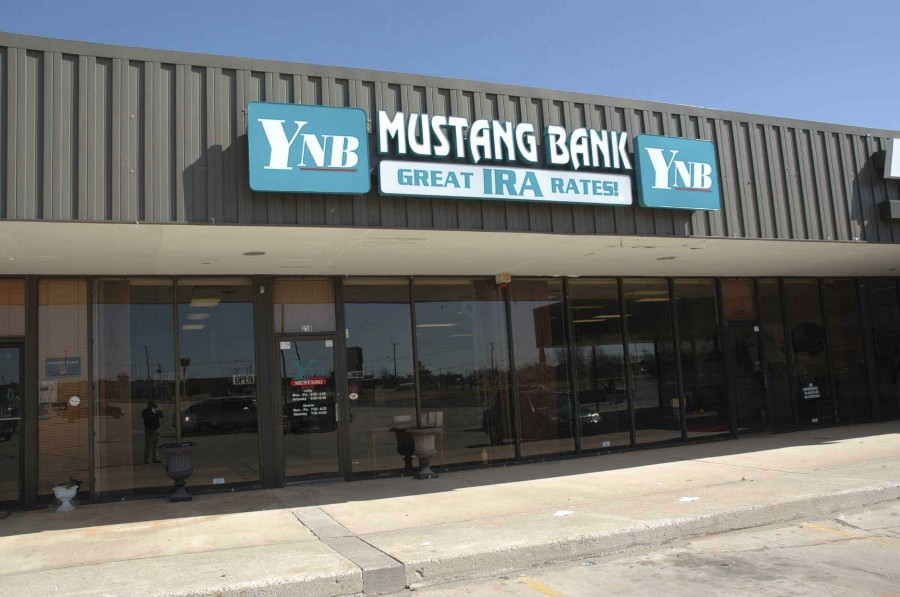 YNB Mustang location exterior view