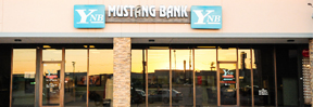 Mustang Becomes Full Service Bank